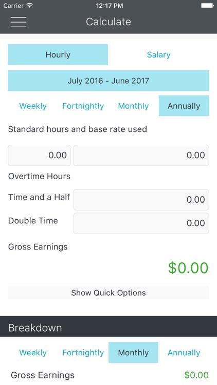 Payday - ATO Tax Calculator