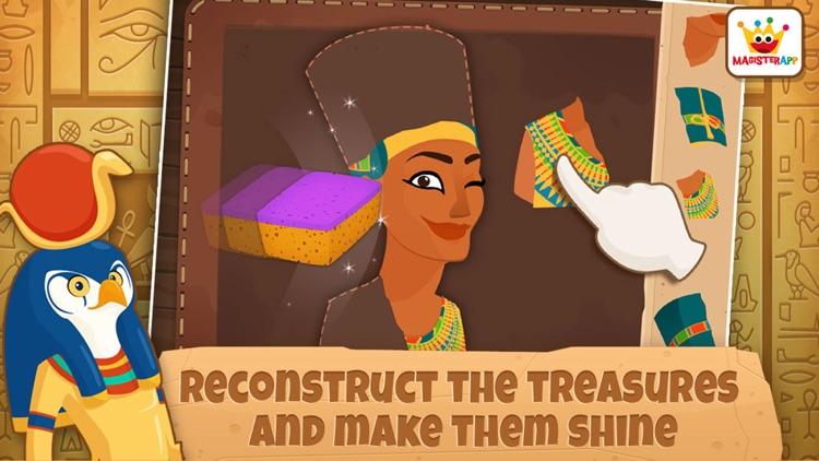 Archaeologist Egypt: Kids Games & Learning Free screenshot-3