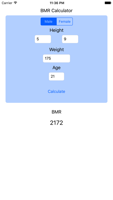 BMR Calculator - Basal Metabolic Rate Calc Resting