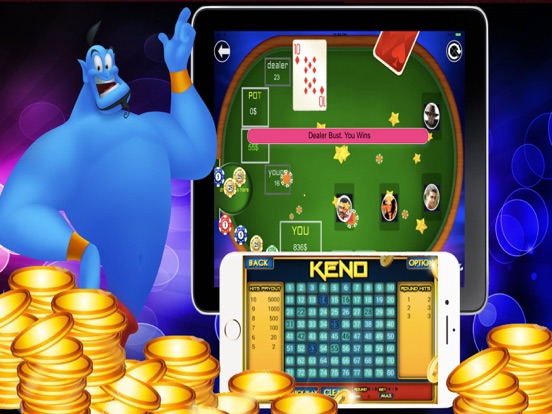 Magic Casino Keno Blackjack screenshot 6