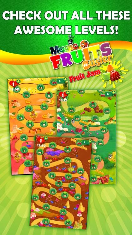 Magic Fruit Buster - Fruit Jam