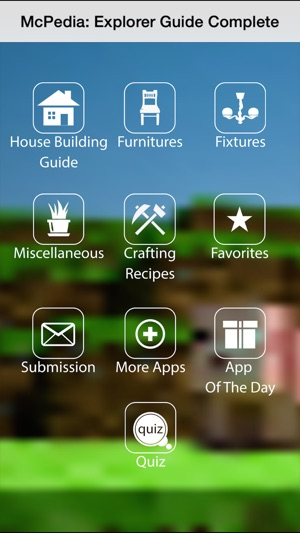 House Furniture Guide For Minecraft Buildings On The App Store