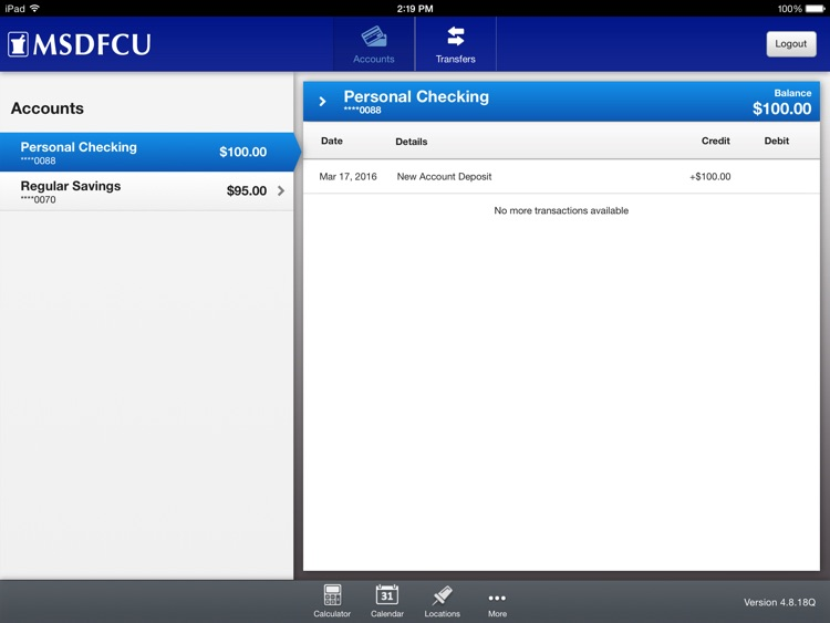 Merck Sharp & Dohme FCU Mobile for iPad