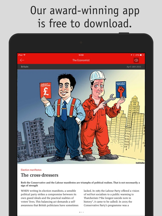 The Economist Classic (UK) screenshot-0