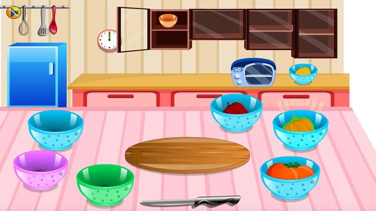 Cooking sara pasta free Cooking games for girls screenshot-4