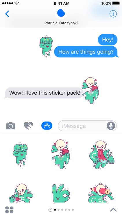 Morty Stickers screenshot-3