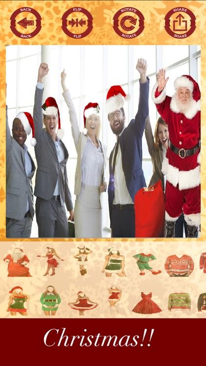 Christmas stickers - your photo on Christmas screenshot-3