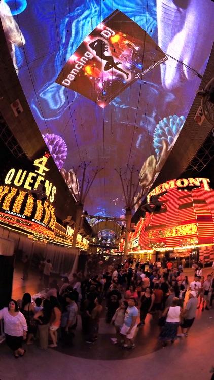 VR Las Vegas Fremont Street Virtual Reality 360 screenshot-3