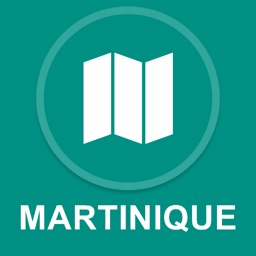 Martinique, France : Offline GPS Navigation