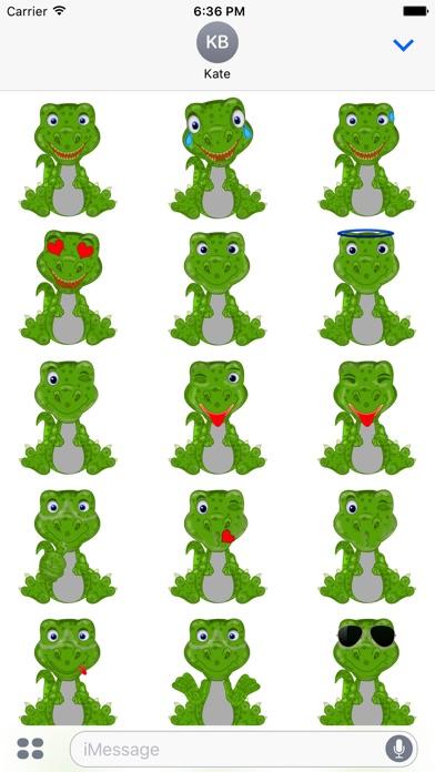 Mr Dino - Funny Stickersのスクリーンショット4