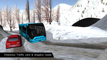 オフロードバスドライビングシミュレータ冬季のおすすめ画像3
