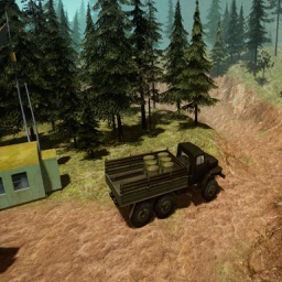 Simulator Truck Drive Hill
