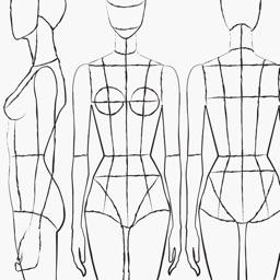 Prêt à Template - Fashion Drawing