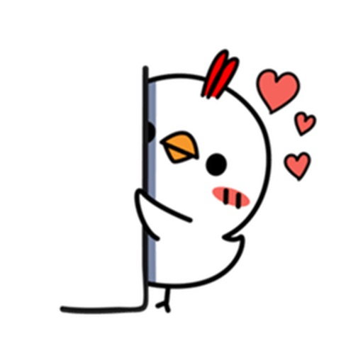 Cutie Little Chicken Stickers