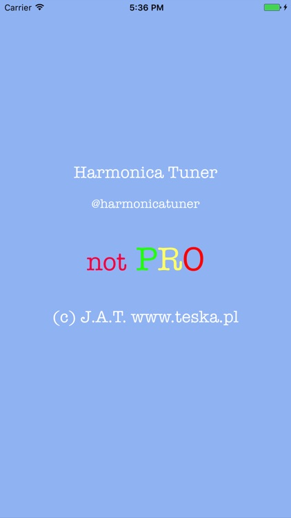 Harmonica Tuner