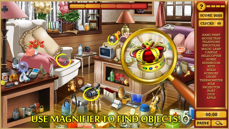 Hidden Objects Adventure Rooms : Escape Manor screenshot-3