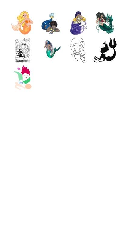 Mermaid Sticker Pack!