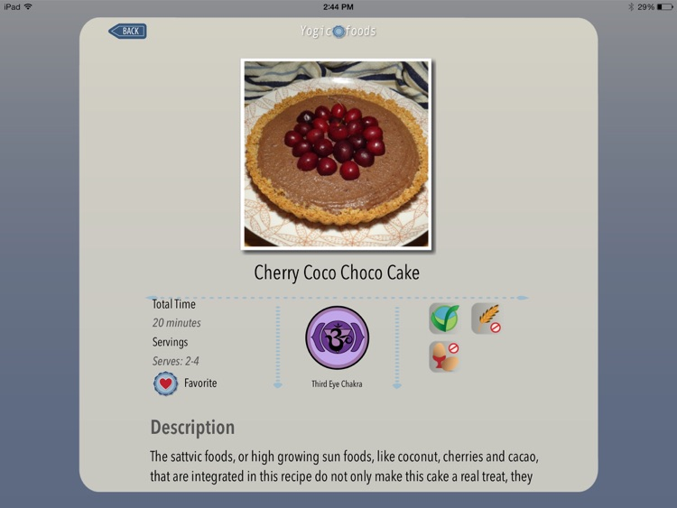 Yogicfoods - Vegetarian, vegan baking recipes screenshot-2