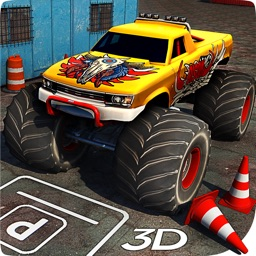 Extreme Monster Truck Parking 3D