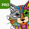 Cat Colouring Pages for Adults PRO