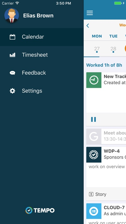Tempo - Time Tracking in JIRA screenshot-4