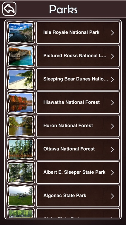 Michigan National & State Parks screenshot-2