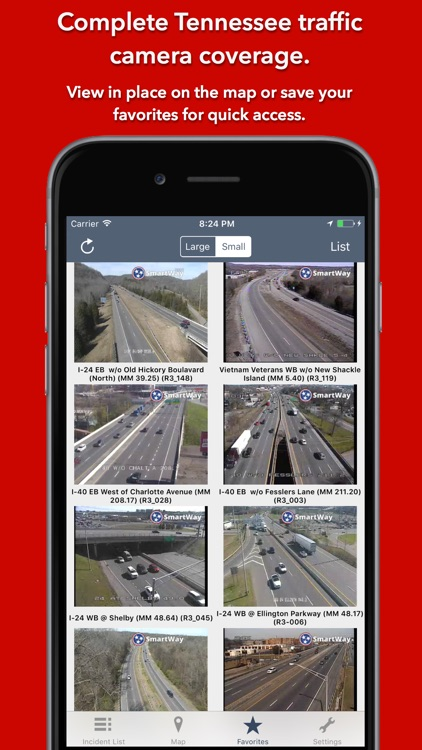 Tennessee Roads - Traffic Conditions & Cameras screenshot-3