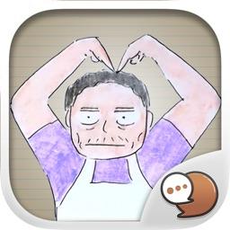 Cartoon Buntorn Ver.2 Stickers Emoji By ChatStick