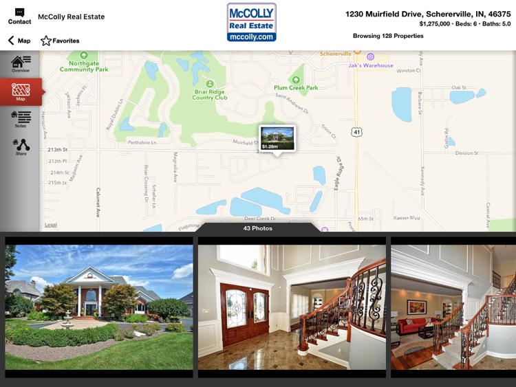 McColly Real Estate for iPad