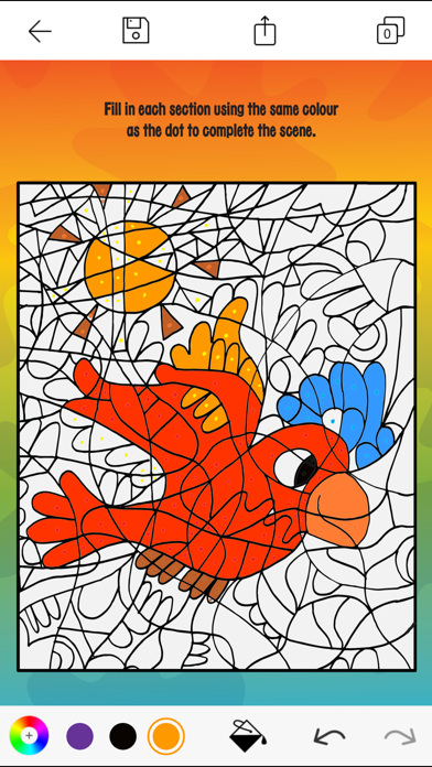 Creative Colouring: A Colouring App for Kids Screenshot