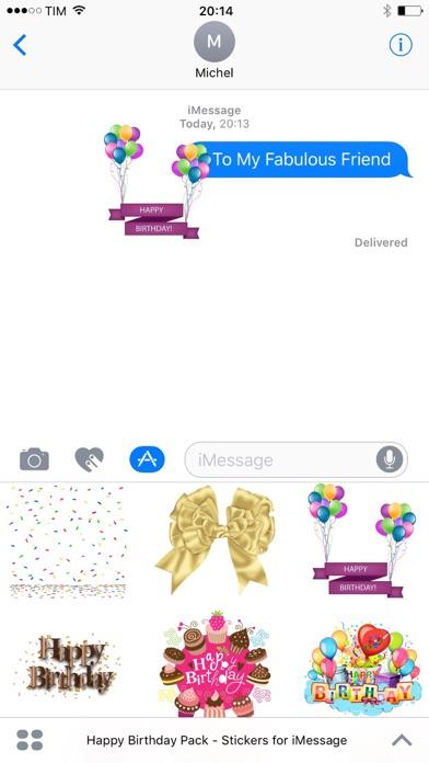 Happy Birthday Pack screenshot 1