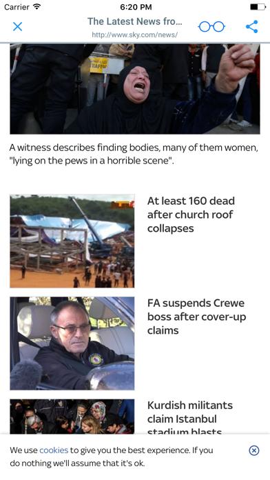 UK NEWSPAPERS and MAGAZINES screenshot two