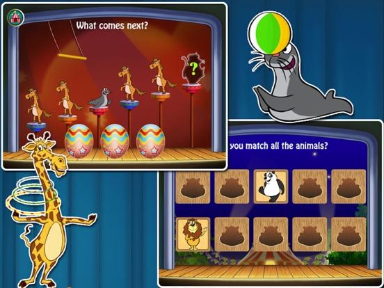 Animal Preschool! Circus- Educational app for kids для iPad
