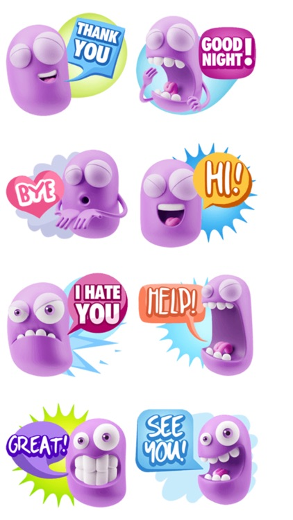 Daily Chat Stickers