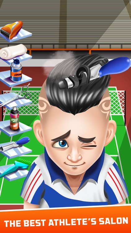 Athlete Shave Salon Games screenshot-3