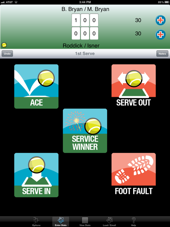 My Tennis Stats HD screenshot
