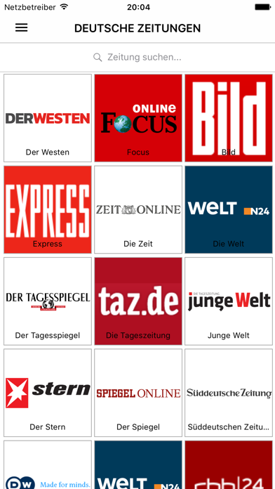 Deutsche Zeitungen - Nachricht