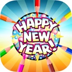 Happy New Year - Coloring Book for me & children