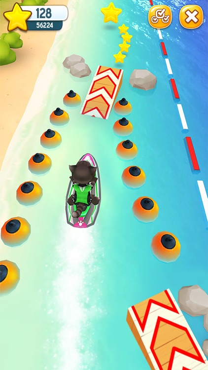 Talking Tom Jetski screenshot-1