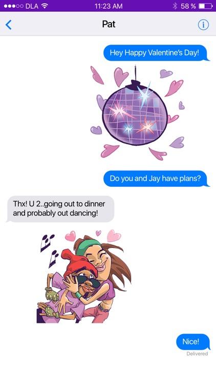 Dance Love App Sticker Pack