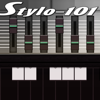 Stylo-101 (Stylophone+SH-101) bass synth with MIDI