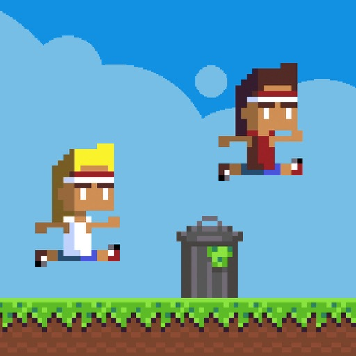 Retro Running Brothers icon