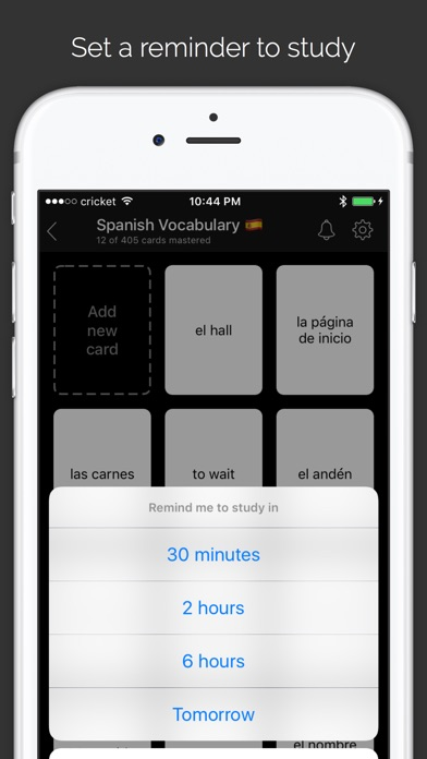 Go FlashCards Screenshot