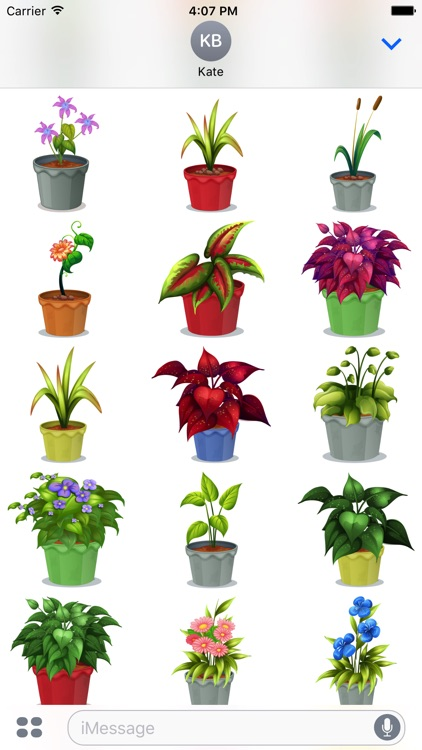 Flower Power Emoji screenshot-4