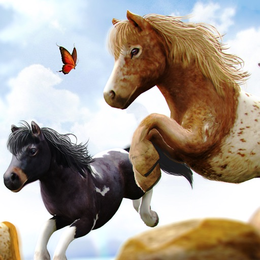 My Pony Horse Riding - The Horses Racing Game iOS App