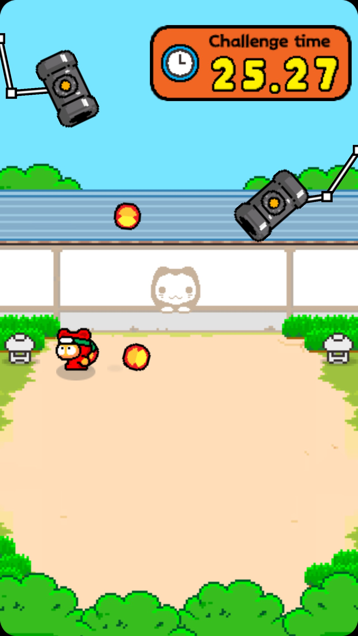 Screenshot do app Ninja Spinki Challenges!!