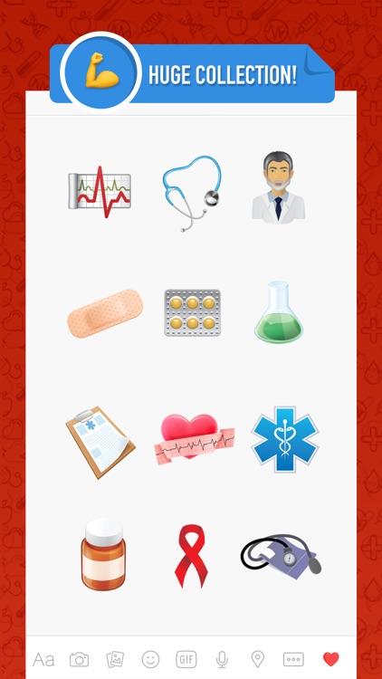 Hospitalmoji - emoji keyboard sticker for hospital