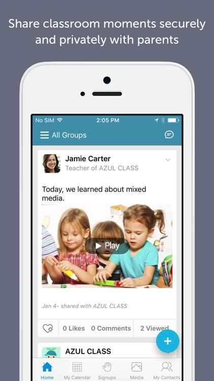 Bloomz: For Teachers & Schools screenshot-0