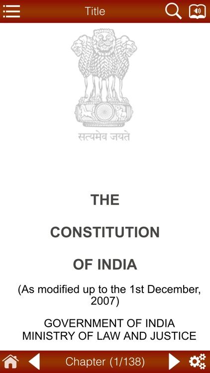 Constitution Of India And Amendments