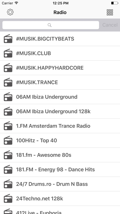 Radio FM Techno online Stations